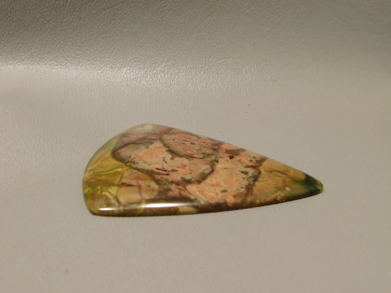 Morrisonite Jasper Gemstone Large Triangle Collector Cabochon #xl2