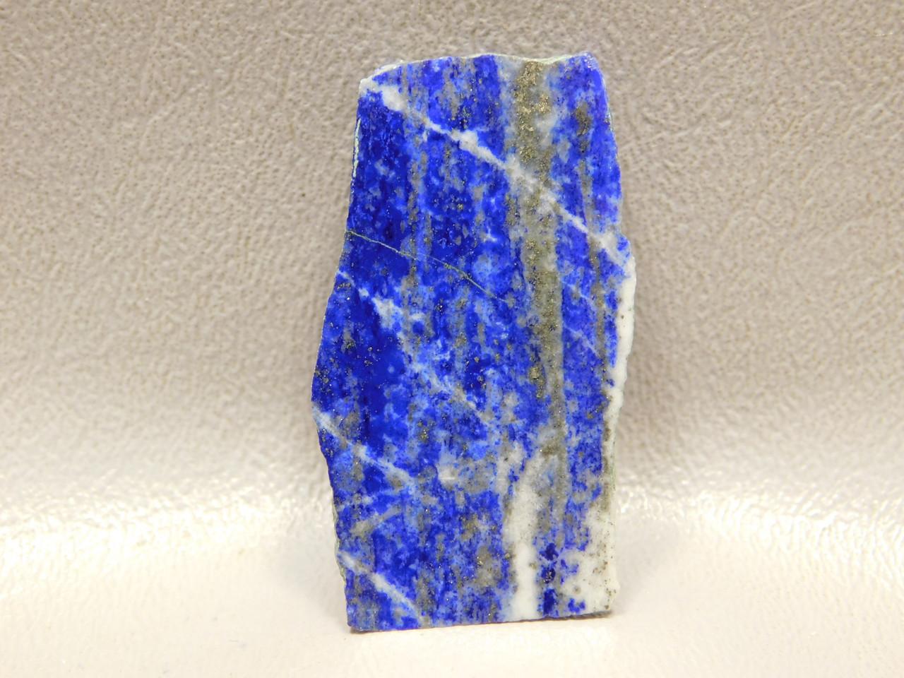 Natural Freeform Small Cabochon Polished Slab Lapis Lazuli #s2