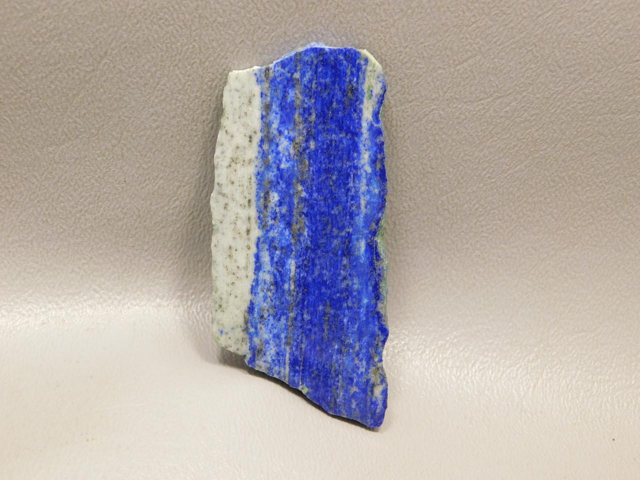 Long Natural Freeform Small Cabochon Polished Slab Lapis Lazuli #s6