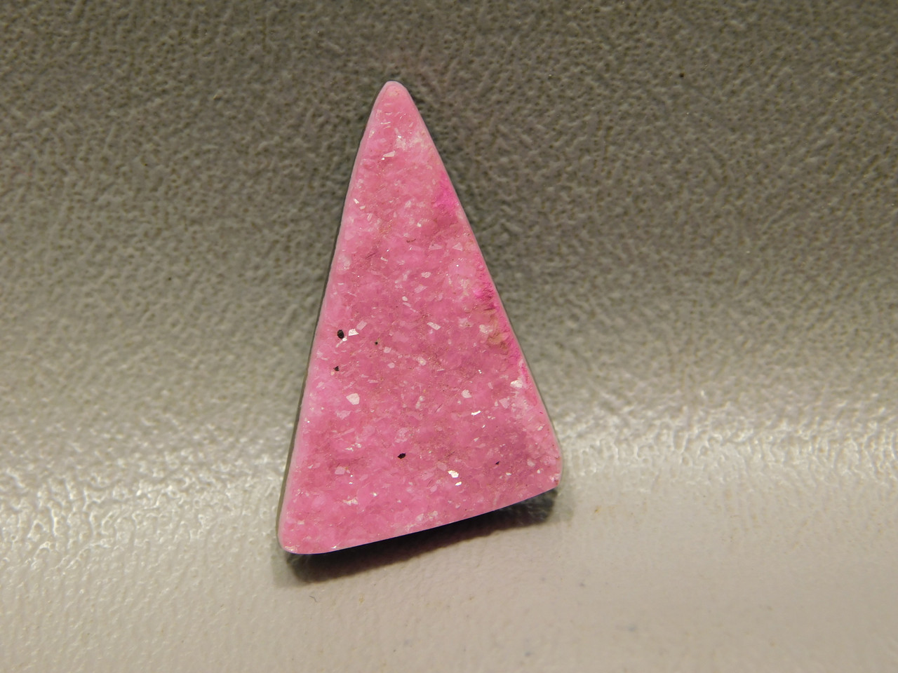 Cobalto Calcite Pink Drusy Crystal Designer Gemstone Cabochon #12