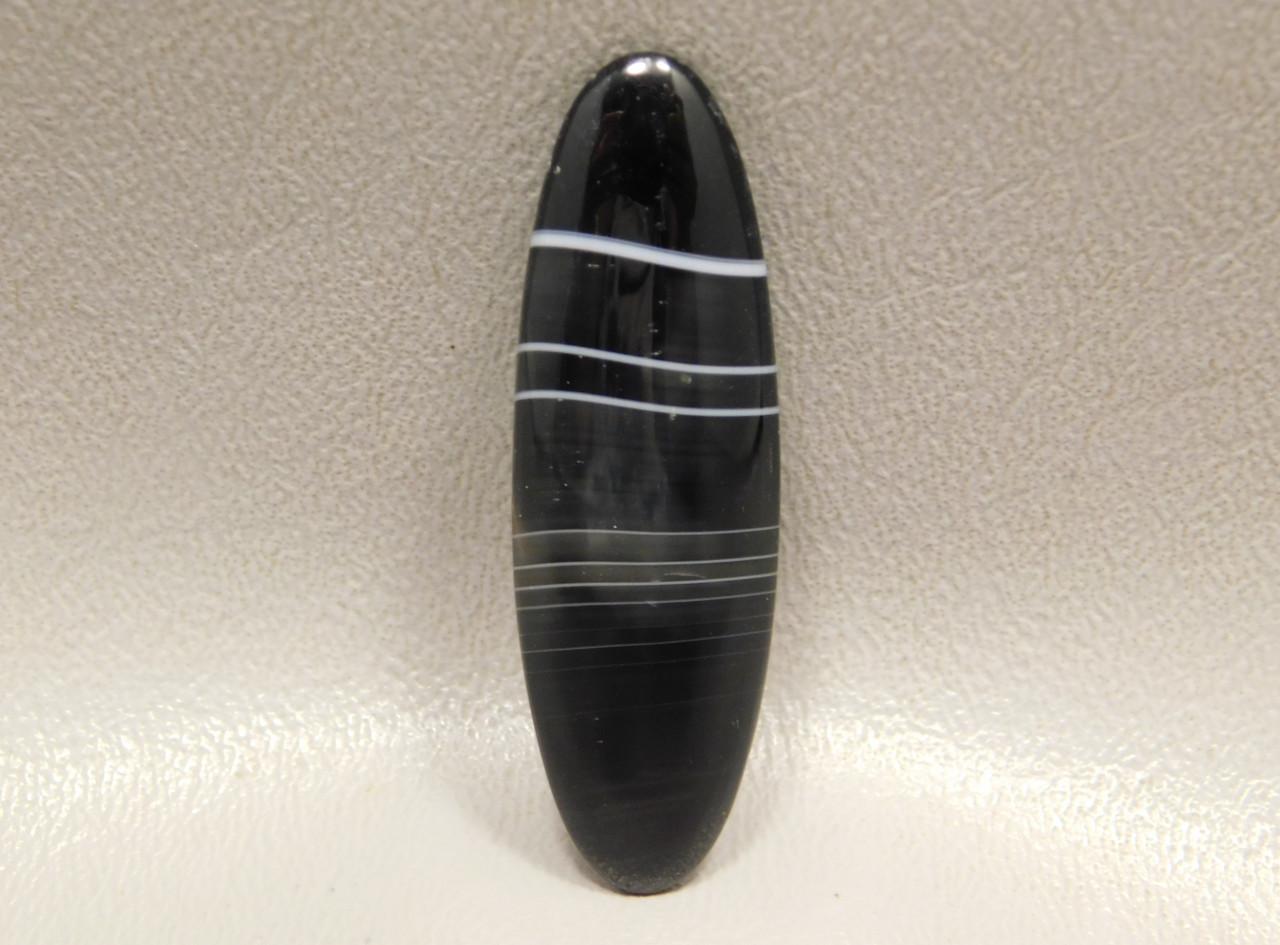 Tuxedo Agate Designer Cabochon Semiprecious Gemstone #22