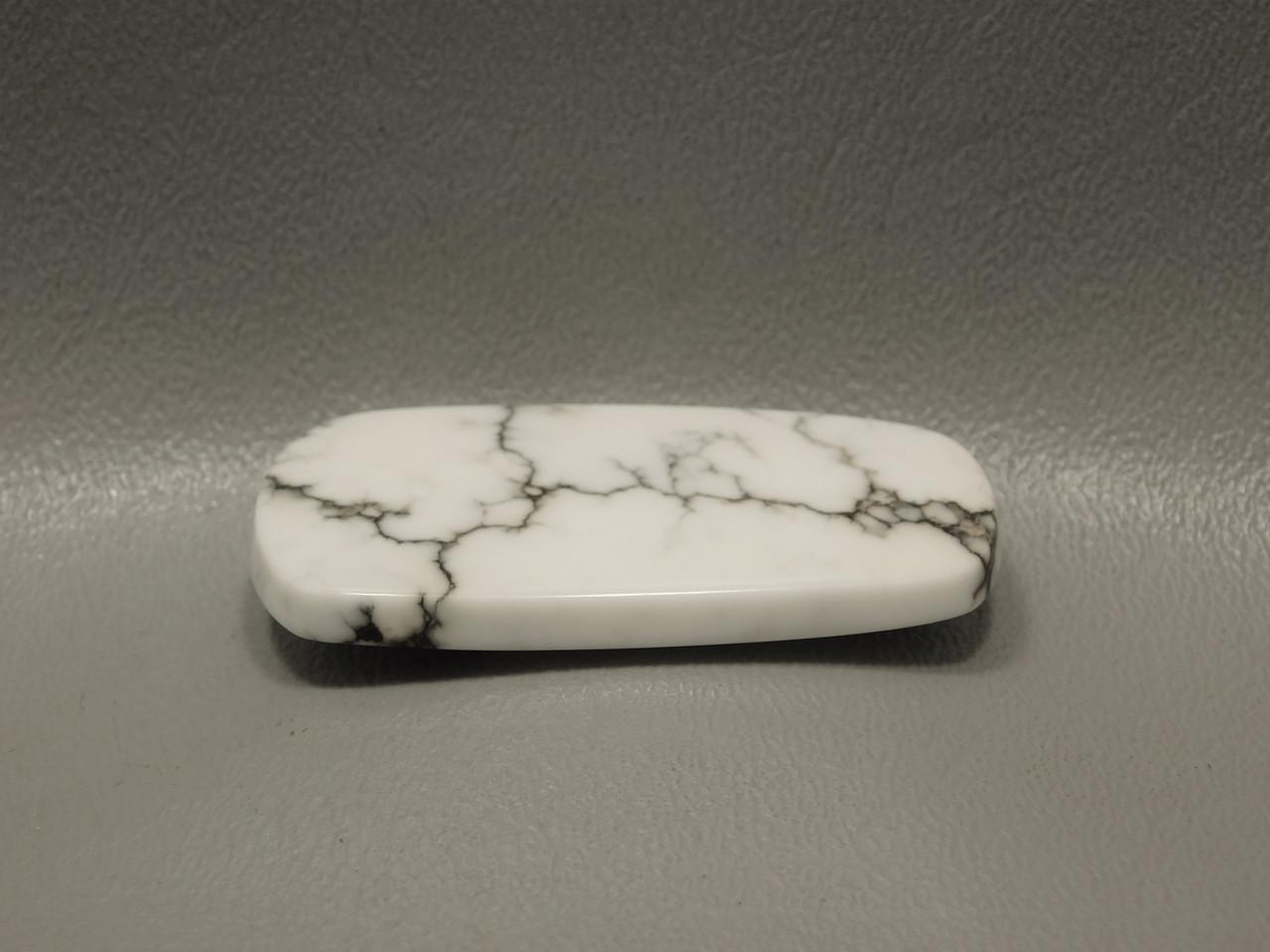 Cabochon Howlite Custom Cut Freeform Stone #10
