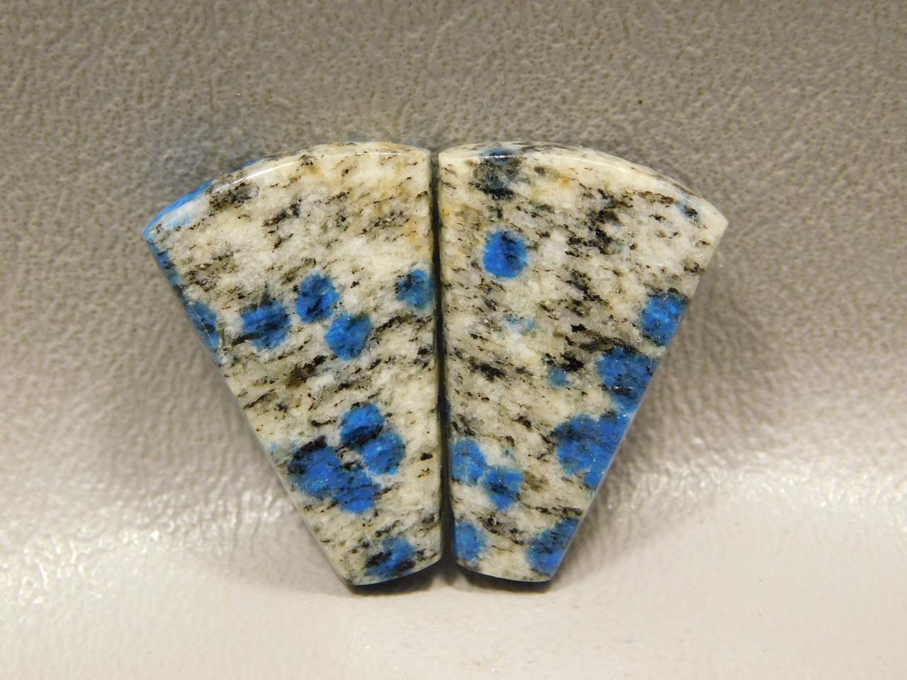 Cabochons K2 Custom Cut Stone Matched Pair Gemstone #6