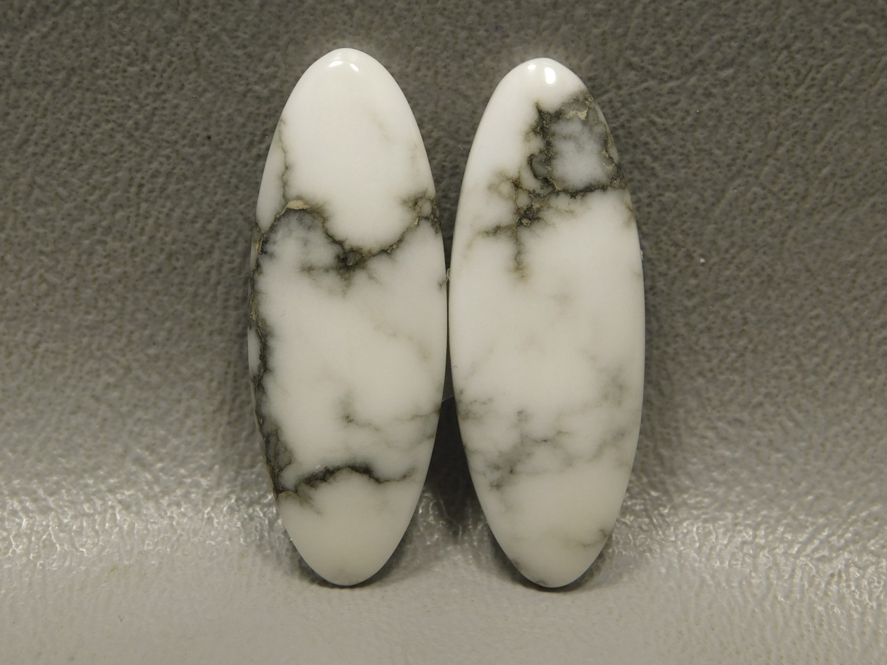 Cabochons Howlite Matched Pair California Stones #6