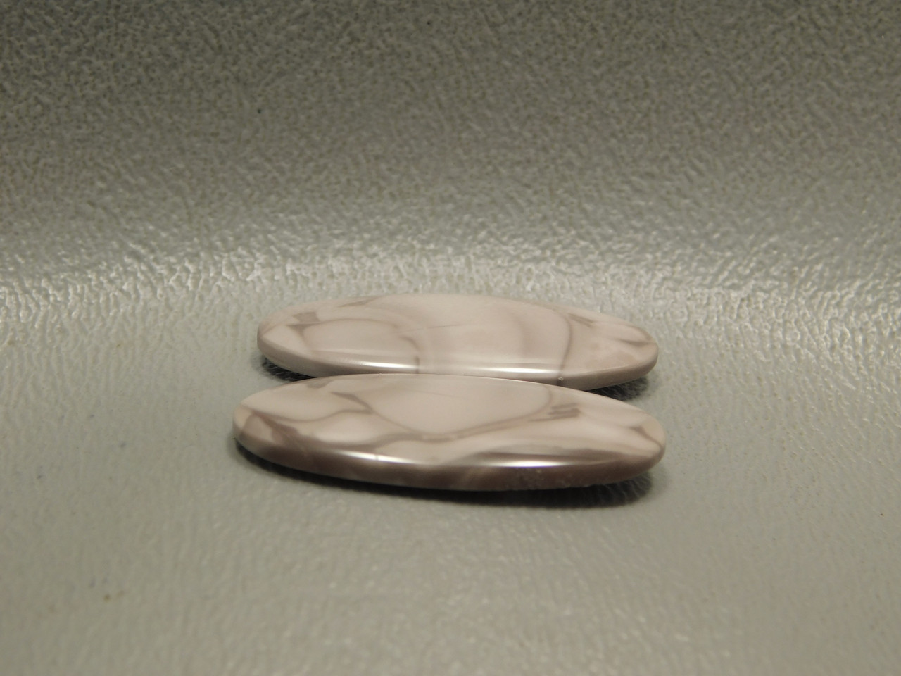 Willow Creek Porcelain Jasper Matched Pair Cabochons #14