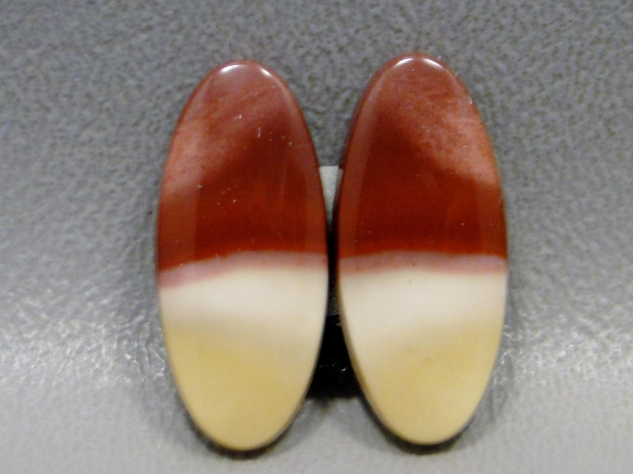 Mookaite Jasper Cabochons Matched Pairs Gemstones #19