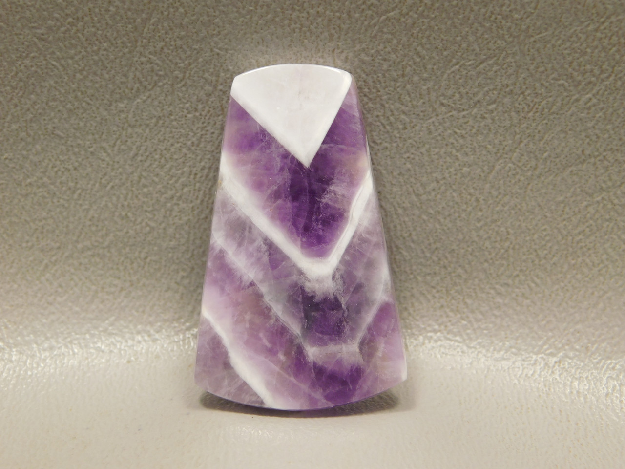 Chevron Amethyst Cabochon Purple Stone Jewelry Making #15