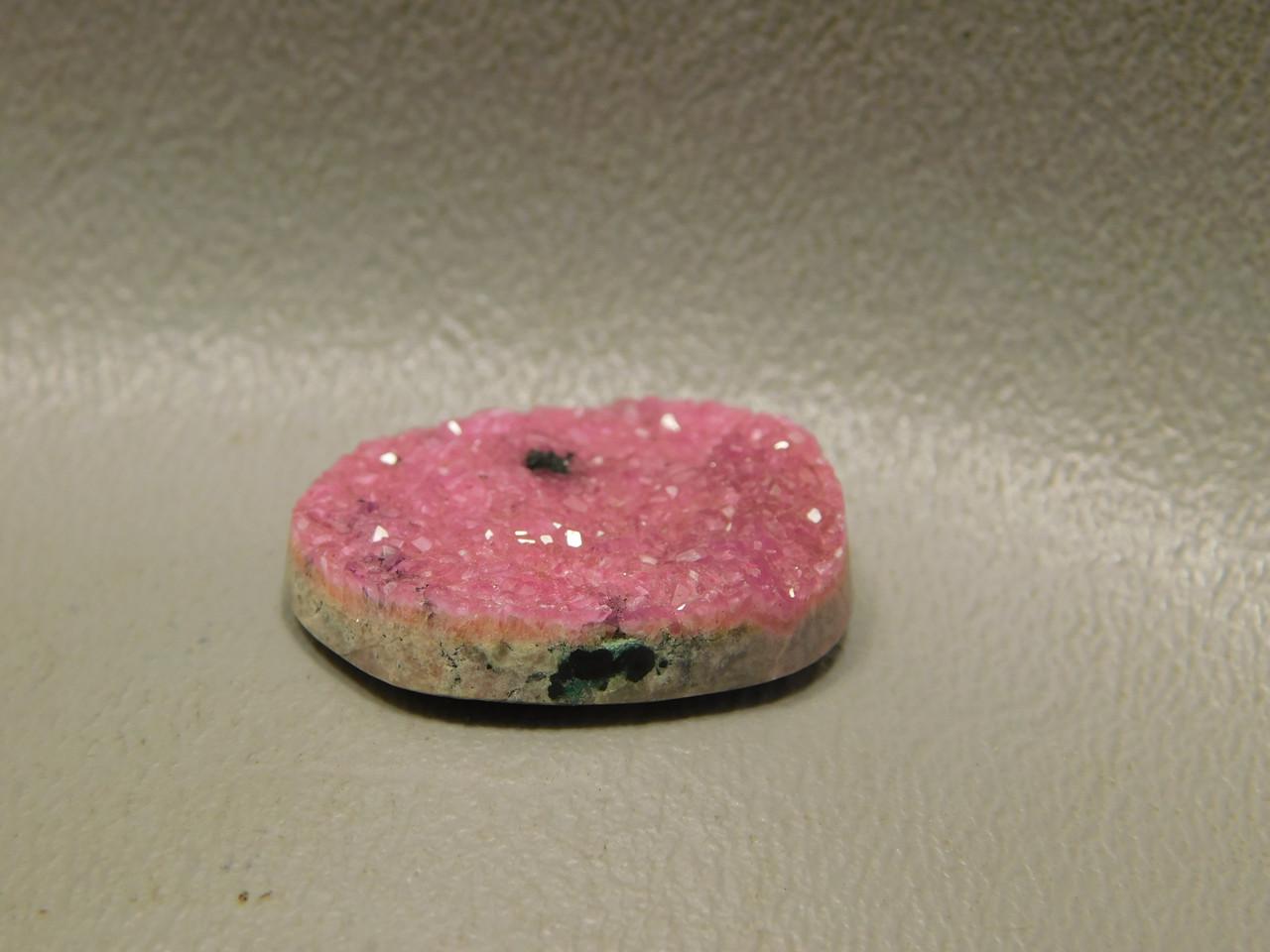 Pink Drusy Pink Druse Pink Druzy Cabochon #10