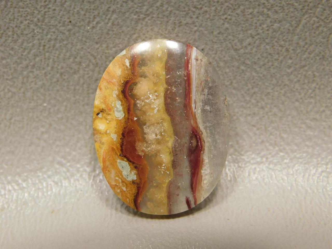 Candy Opal Striped Bacon Opal Gemstone Cabochon Stone #16