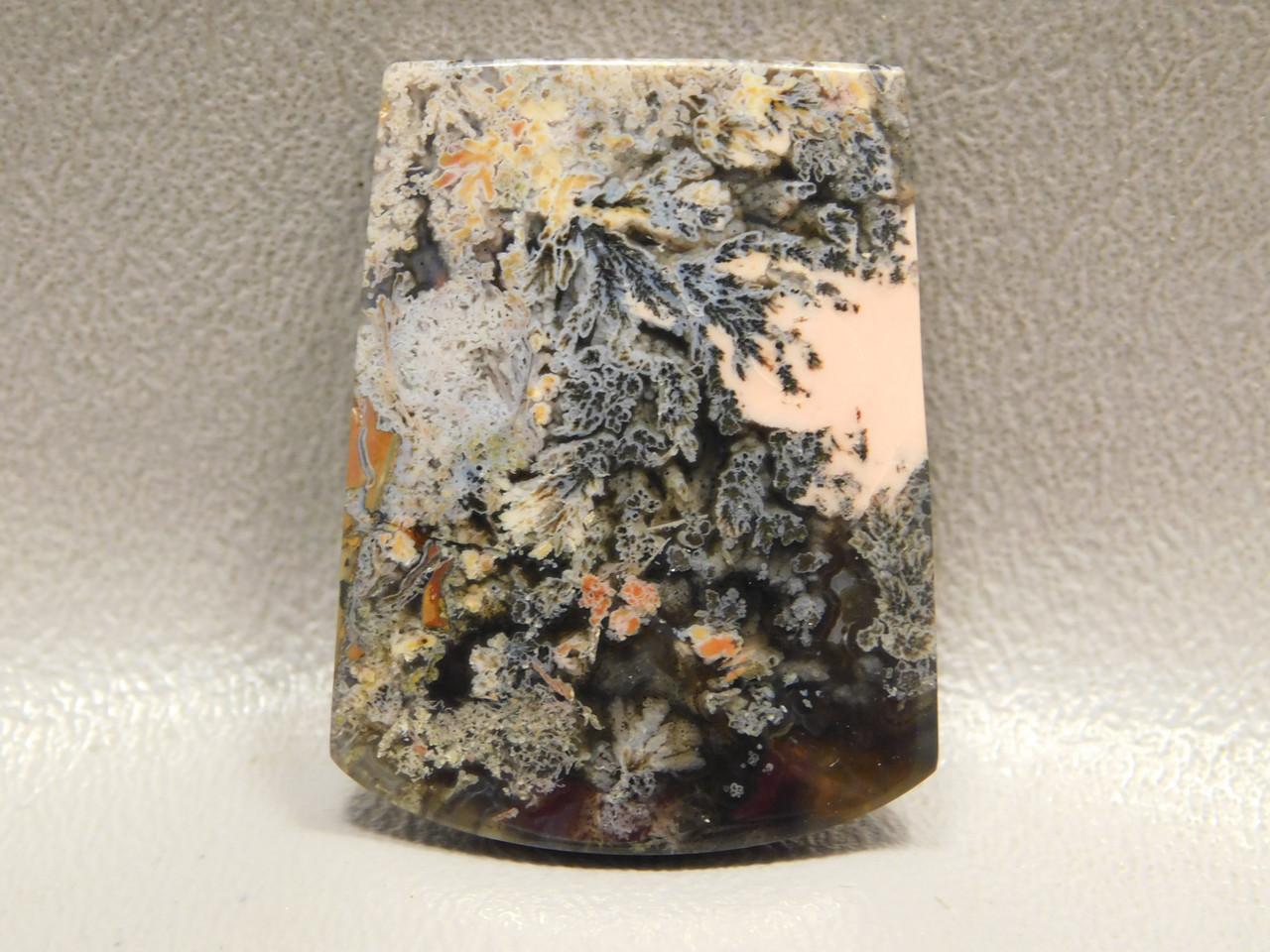 Designer Cabochon Rare Pink Priday Plume Agate Oregon #19