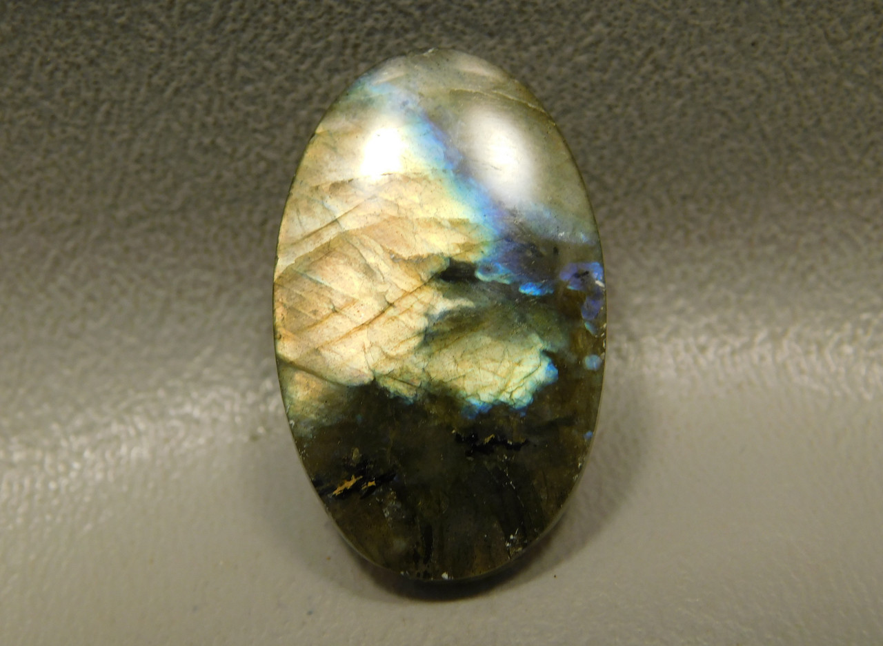 Iridescent Labradorite Semi Precious Gemstone Cabochon #7