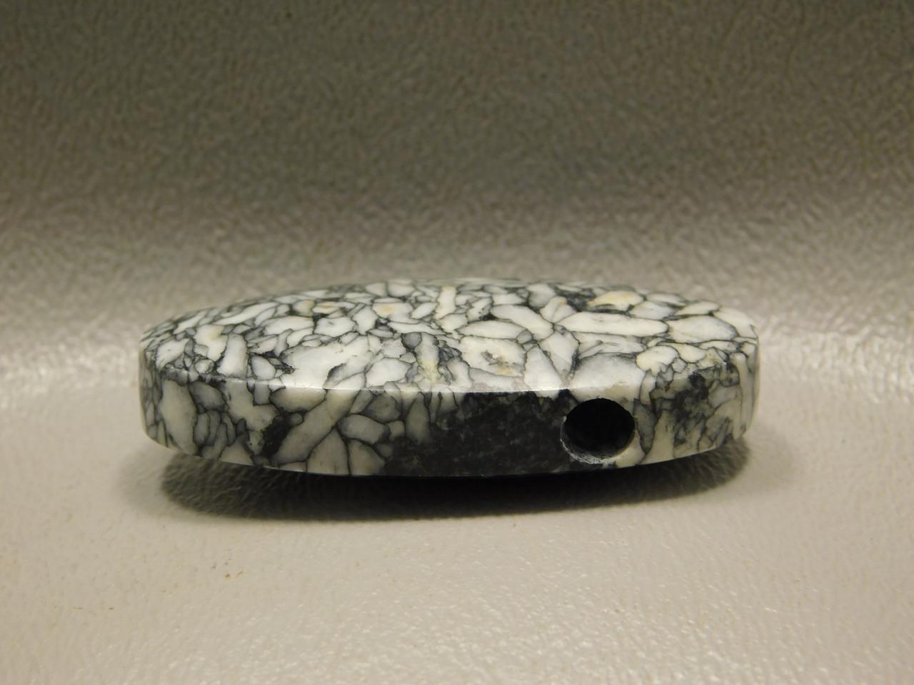 Pinolith Stone Bead Pendant #6
