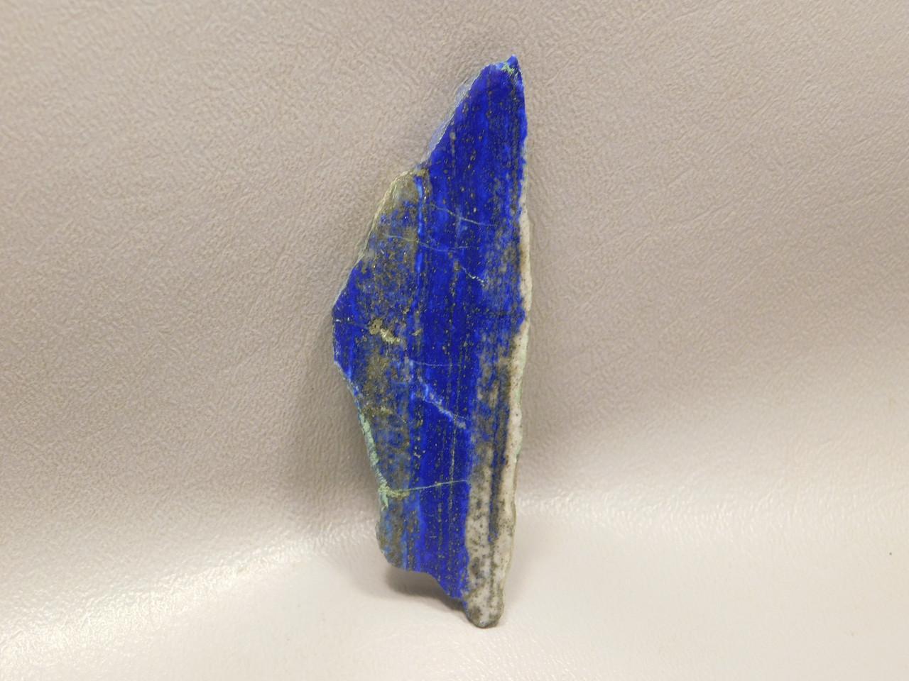 Large natural freeform shaped polished small slab Lapis Lazuli #s8