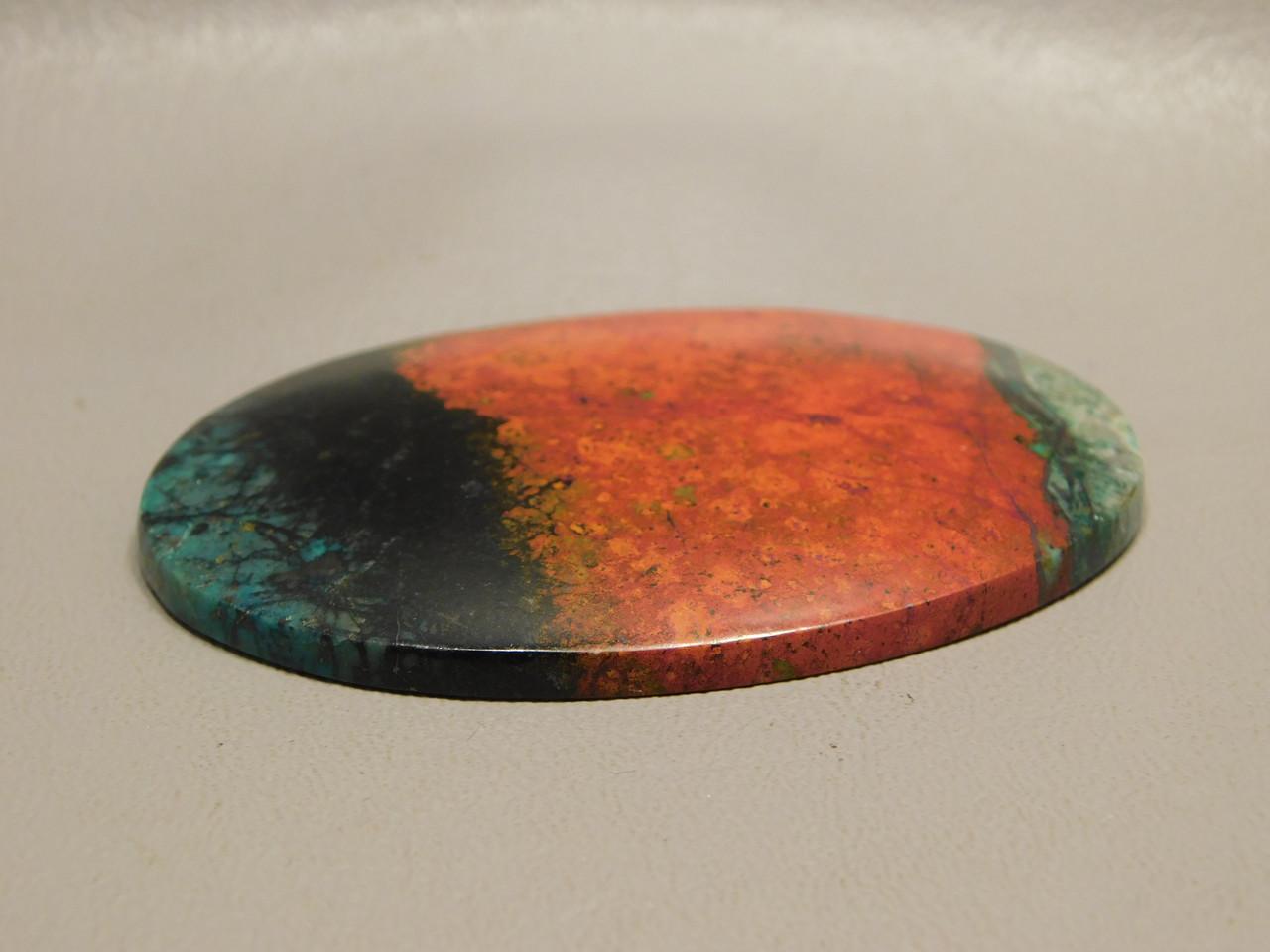 Sonora Sunset Chrysocolla Cuprite Large Cabochon Stone #24