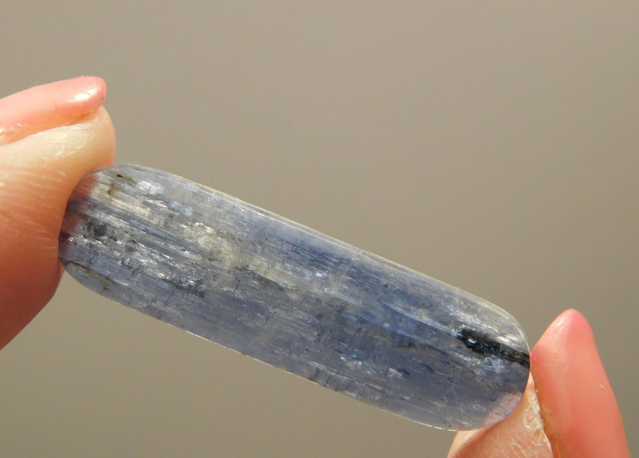 Blue Kyanite Natural Crystal Gemstone Cabochon #11