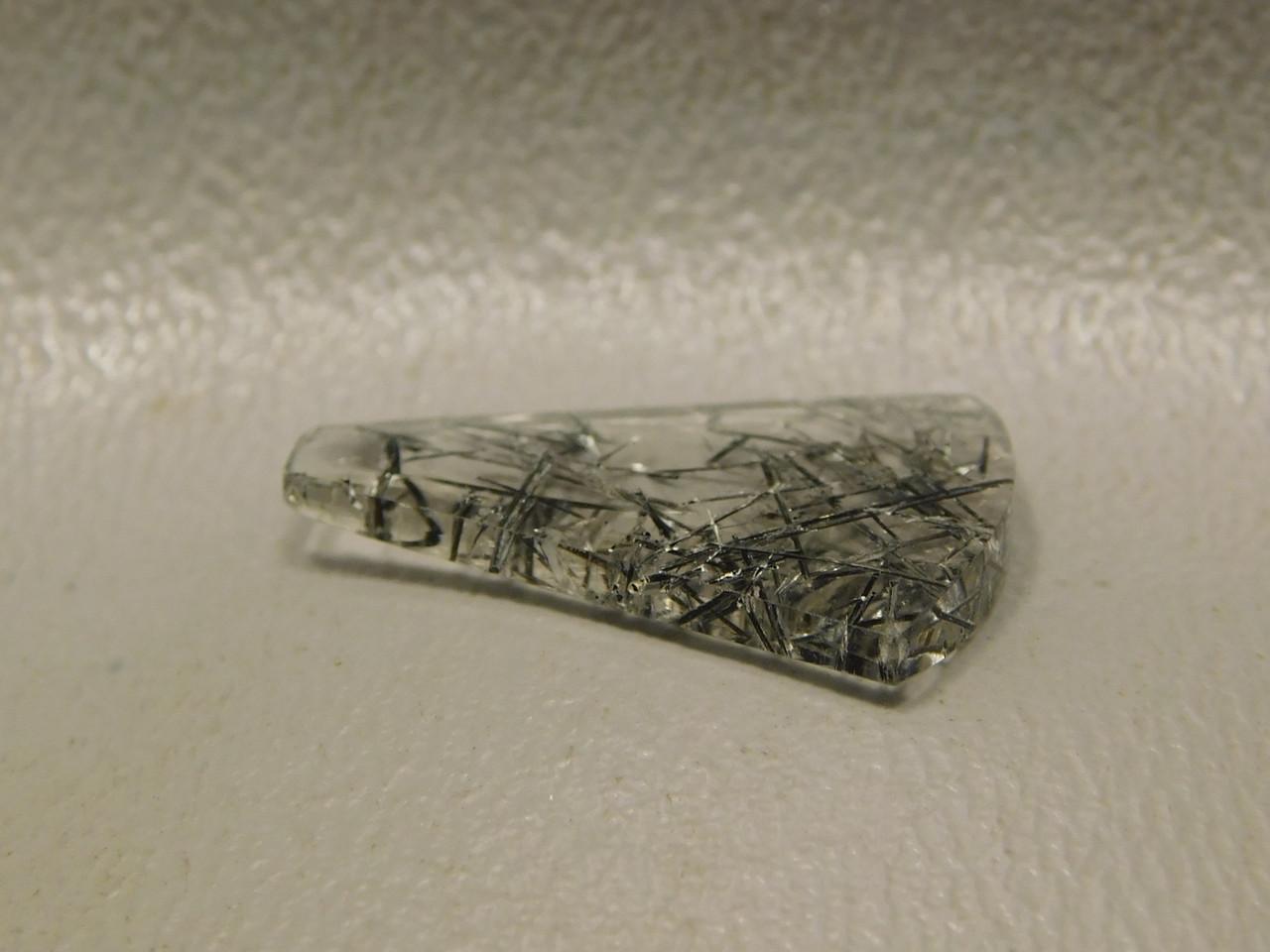 Tourmalined Quartz Small Cabochon Jewelry Making Supplies #20