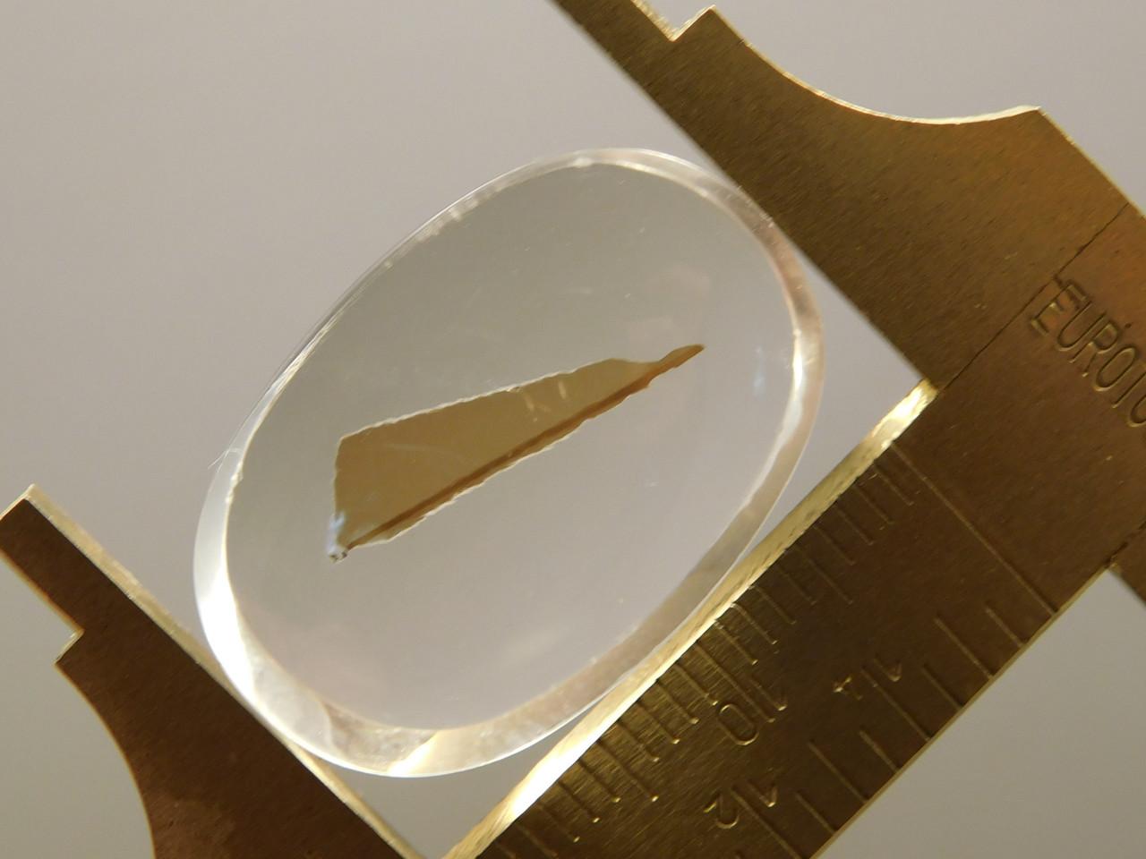 Quartz with Inclusions Cabochon Clear Crystal Gemstone #Q22