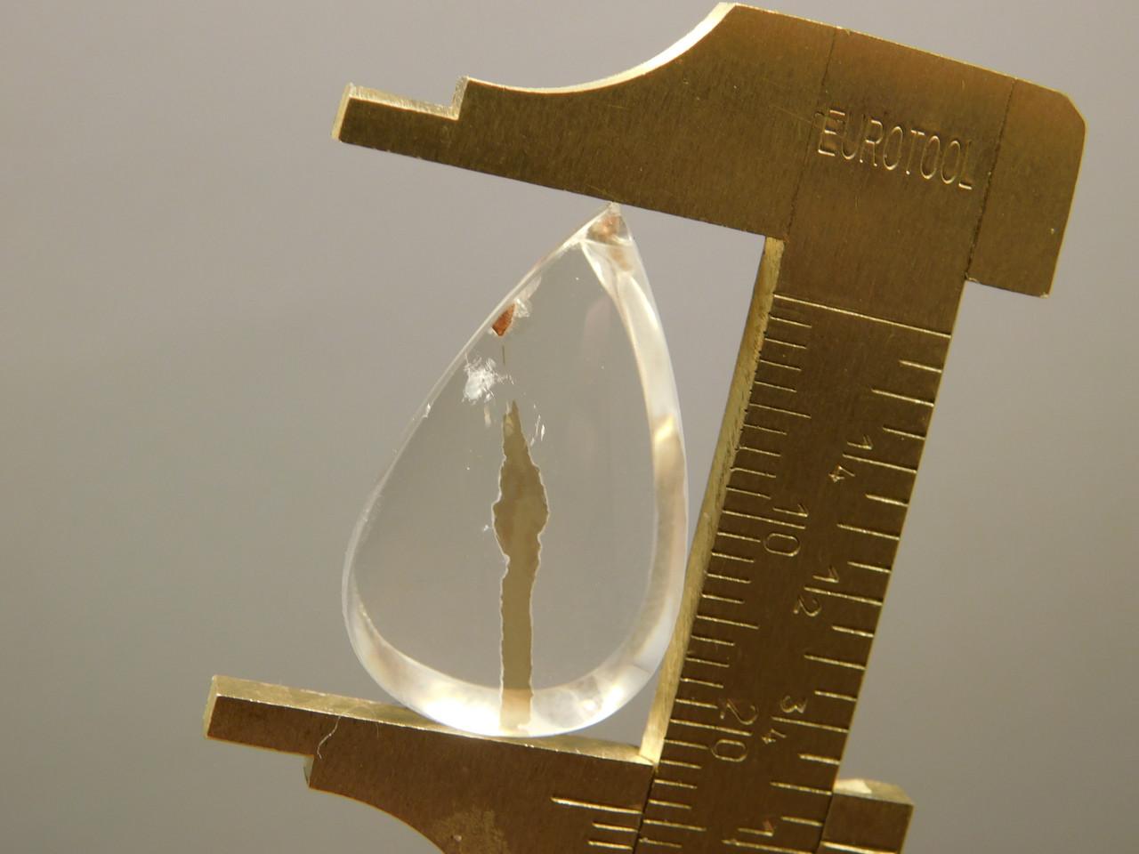 Quartz with Inclusions Cabochon Clear Crystal Gemstone #Q23