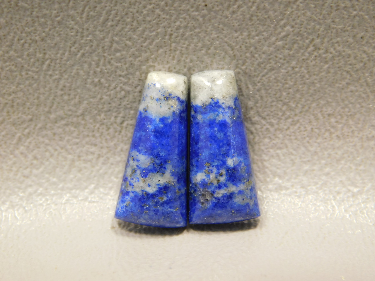 Blue Stone Lapis Lazuli Cabochons Matched Pairs for Earrings #22