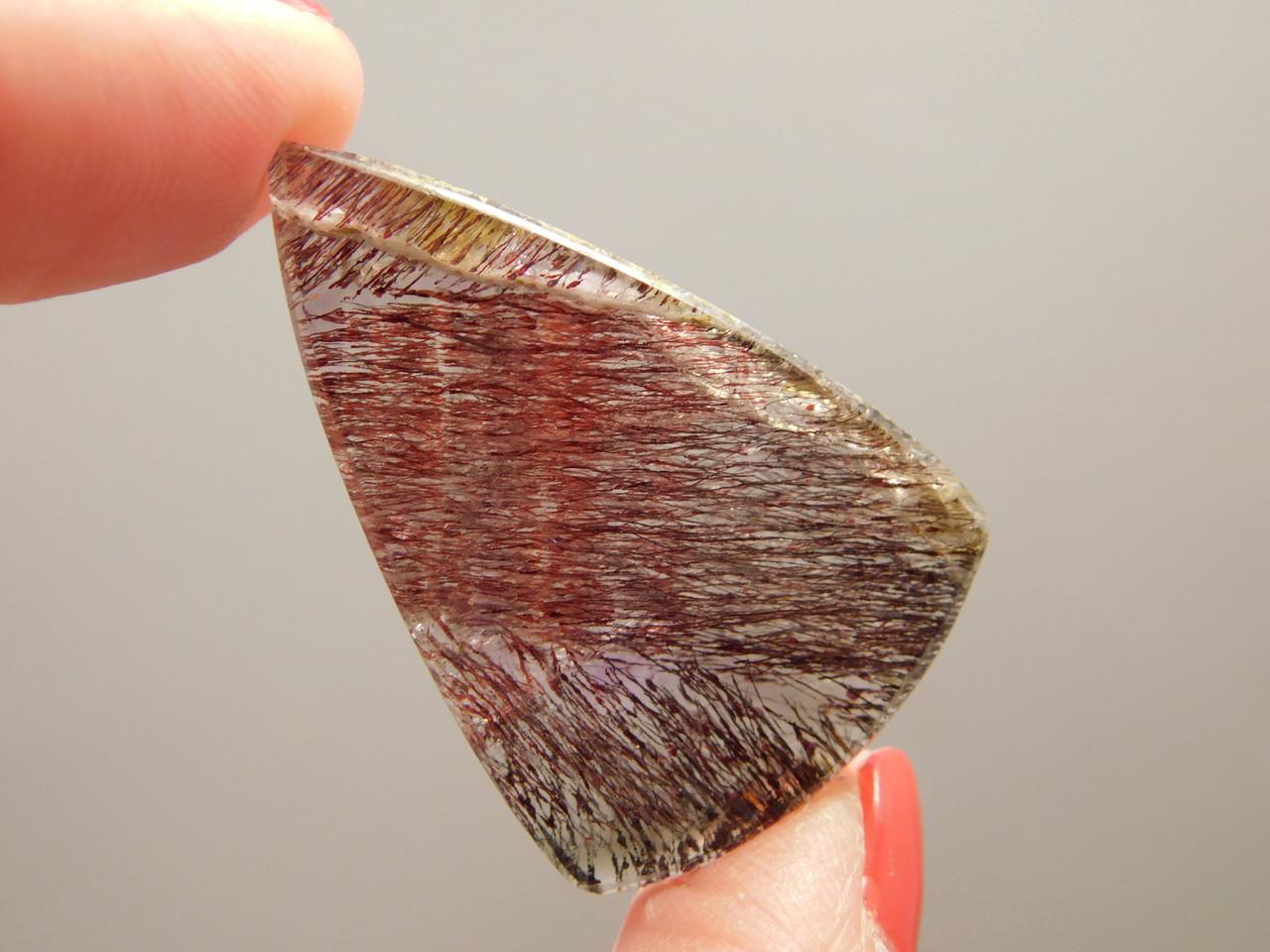 Super Seven Included Quartz Shaped Stone Cabochon #31