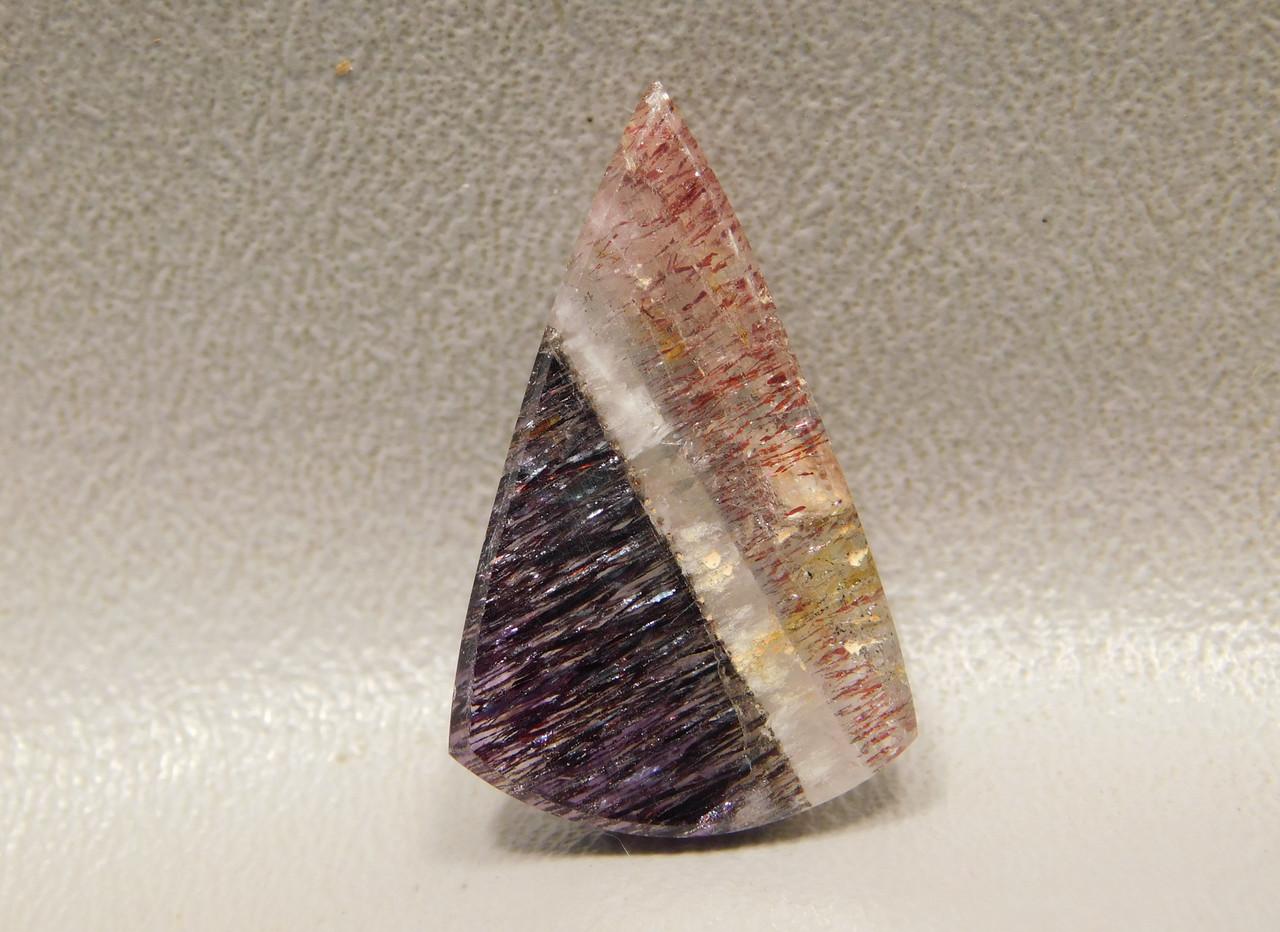 Sacred Stone Included Quartz Shaped Stone Cabochon #33