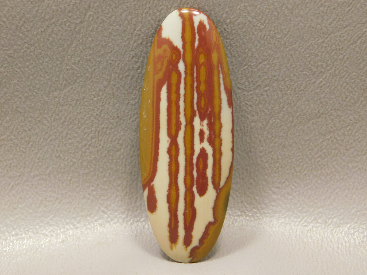 Stone Cabochon Oval Red Owyhee Picture Jasper #21