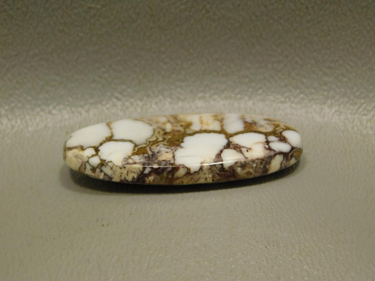 Cabochon Wild Horse White Magnesite Jewelry Making #16