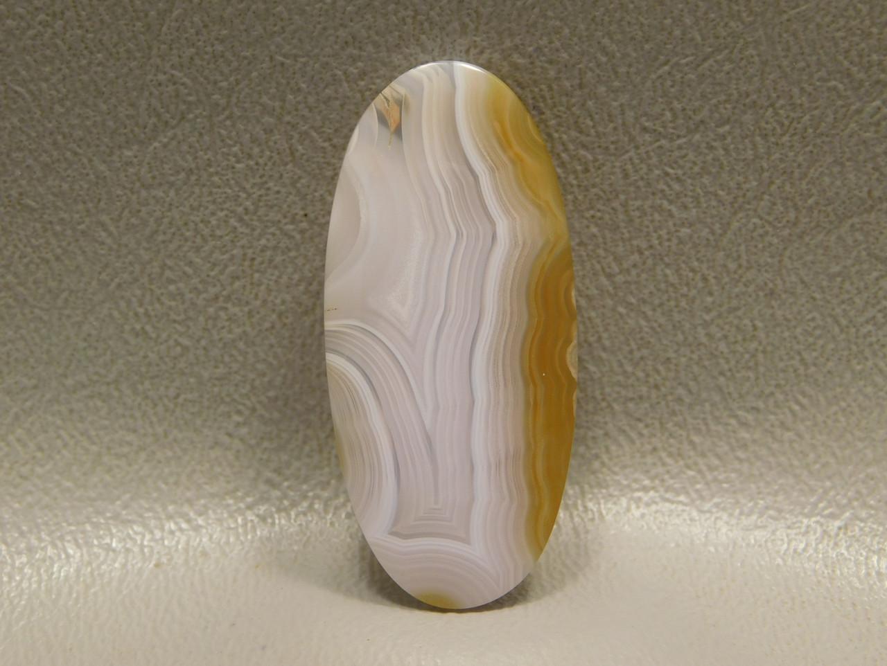 Coyamito Agate Banded Translucent Stone Cabochon #22