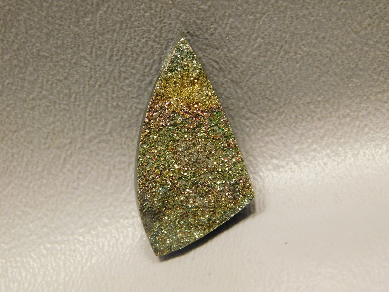 Rainbow Pyrite Cabochon #2