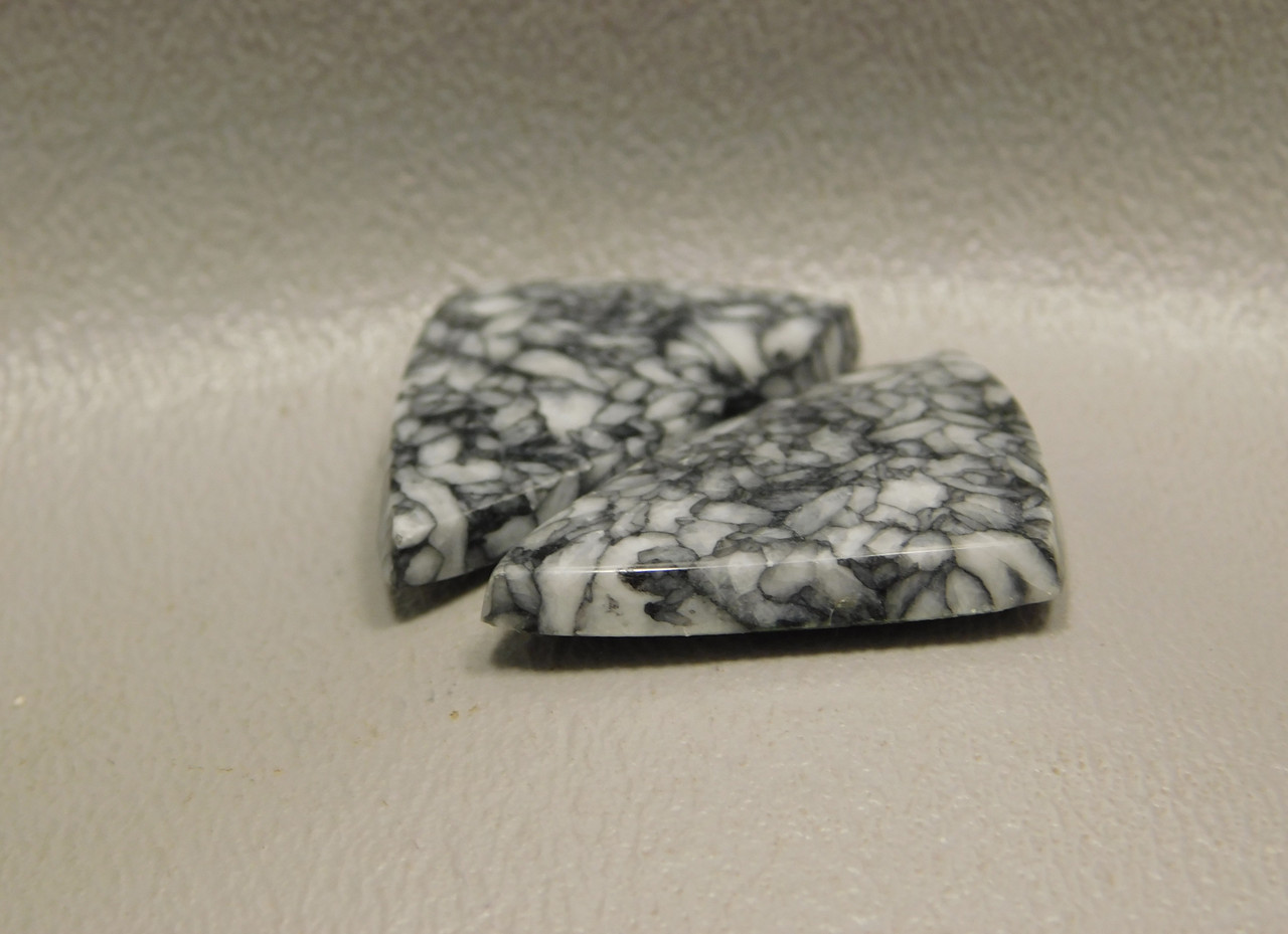 Pinolith or Pinolite Matched Pairs Triangles Stones Cabochons #16