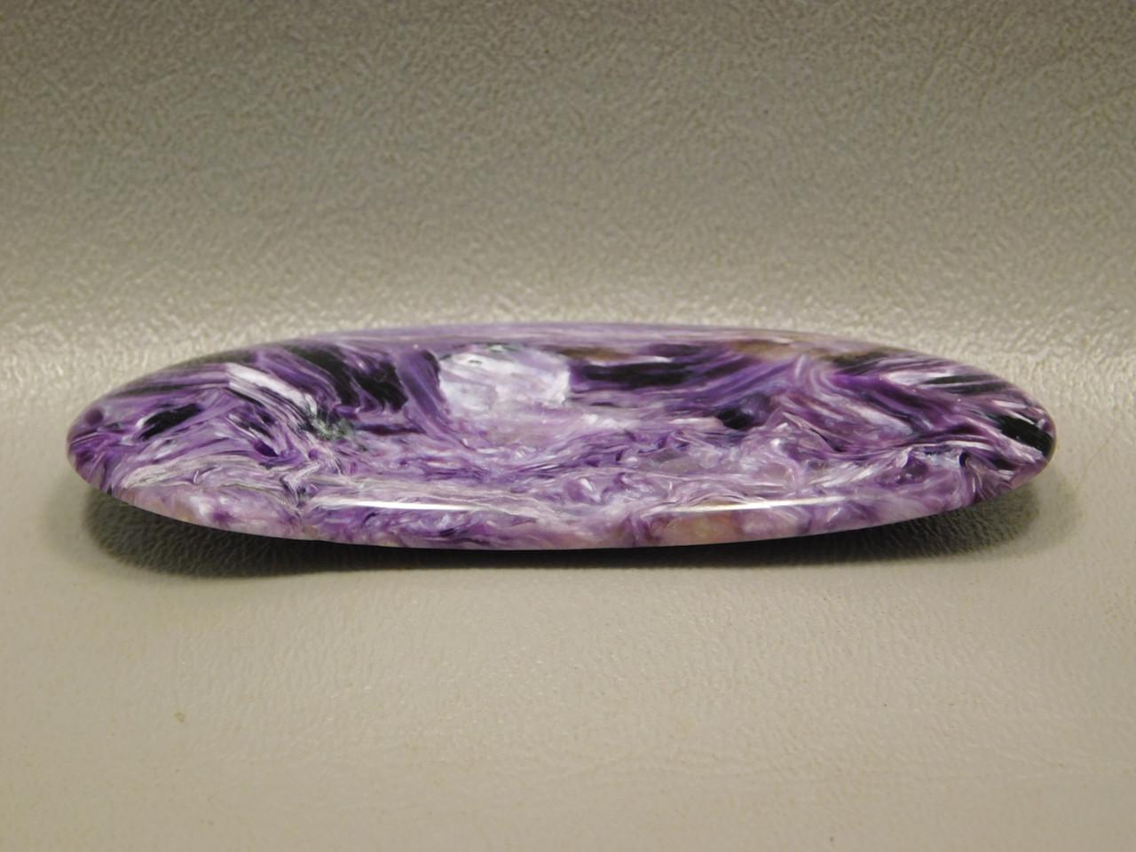 Large Charoite Stone Cabochon Stone Purple Collector #xl1