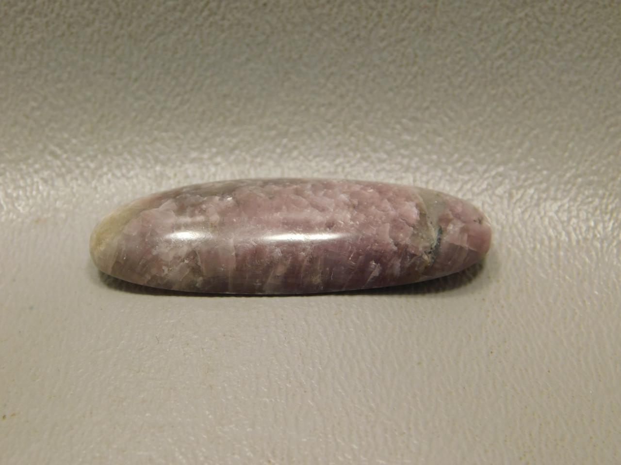 Lavender Purple Lepidolite Semi Precious Stone Cabochon #5
