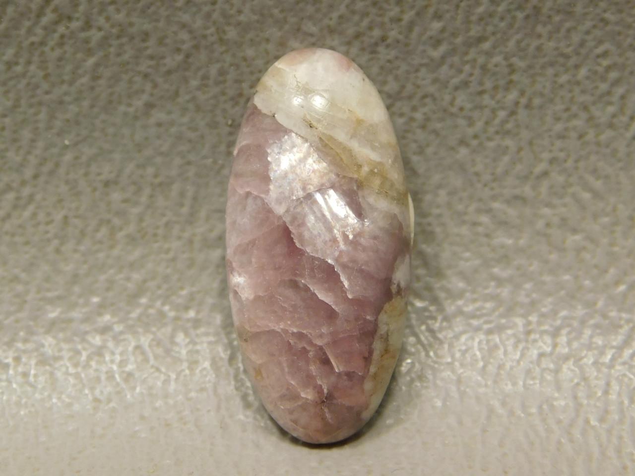 Purple Lepidolite Gemstone Small Cabochon Jewelry Supplies #14