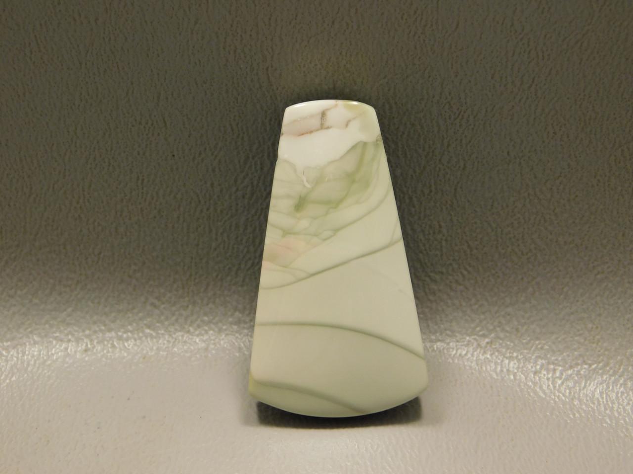 Willow Creek Jasper Drilled Stone Bead Pendant #9