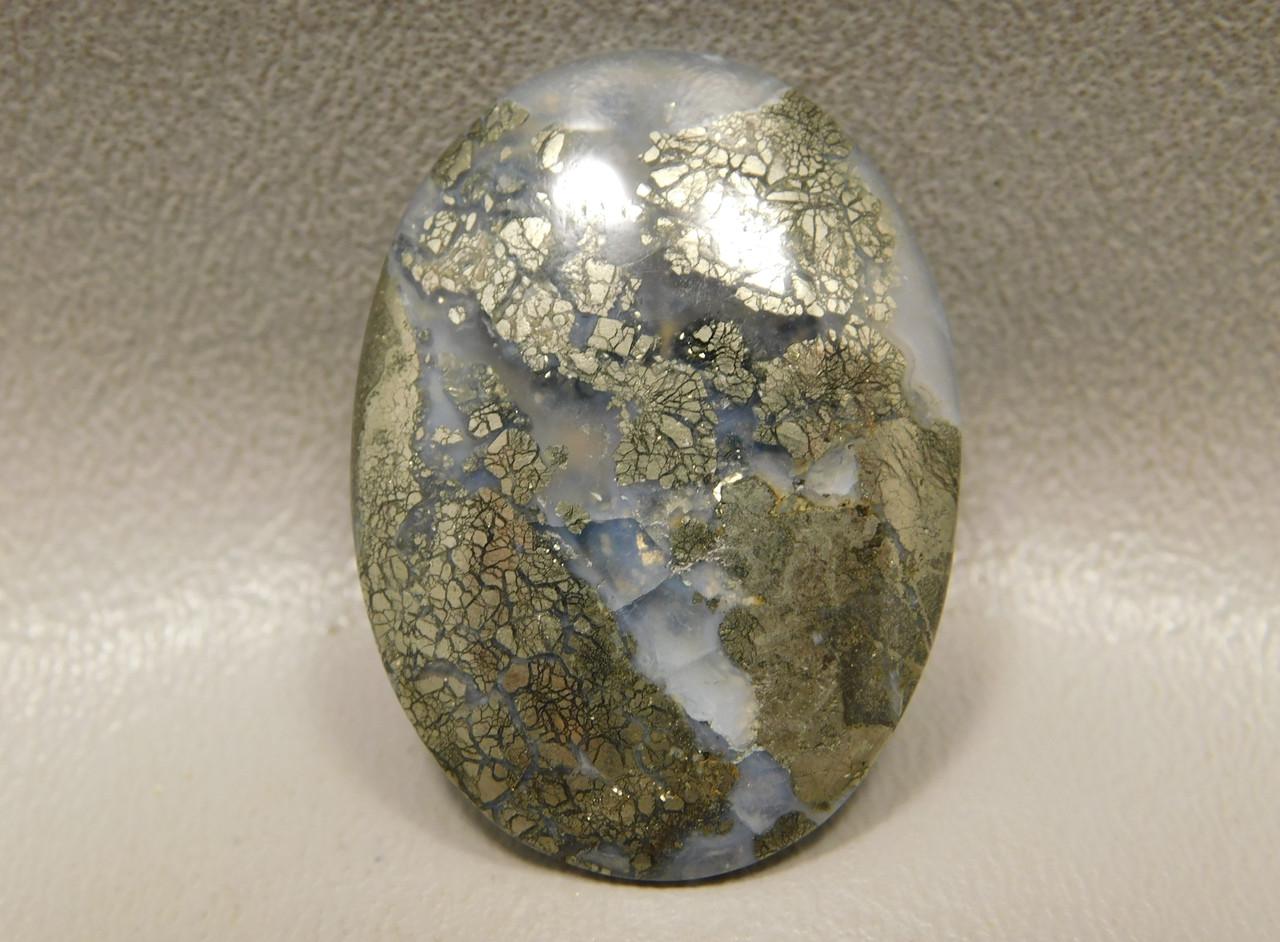 Gold California Nipomo Agate Cabochon Jewelry Stone Supplies #21