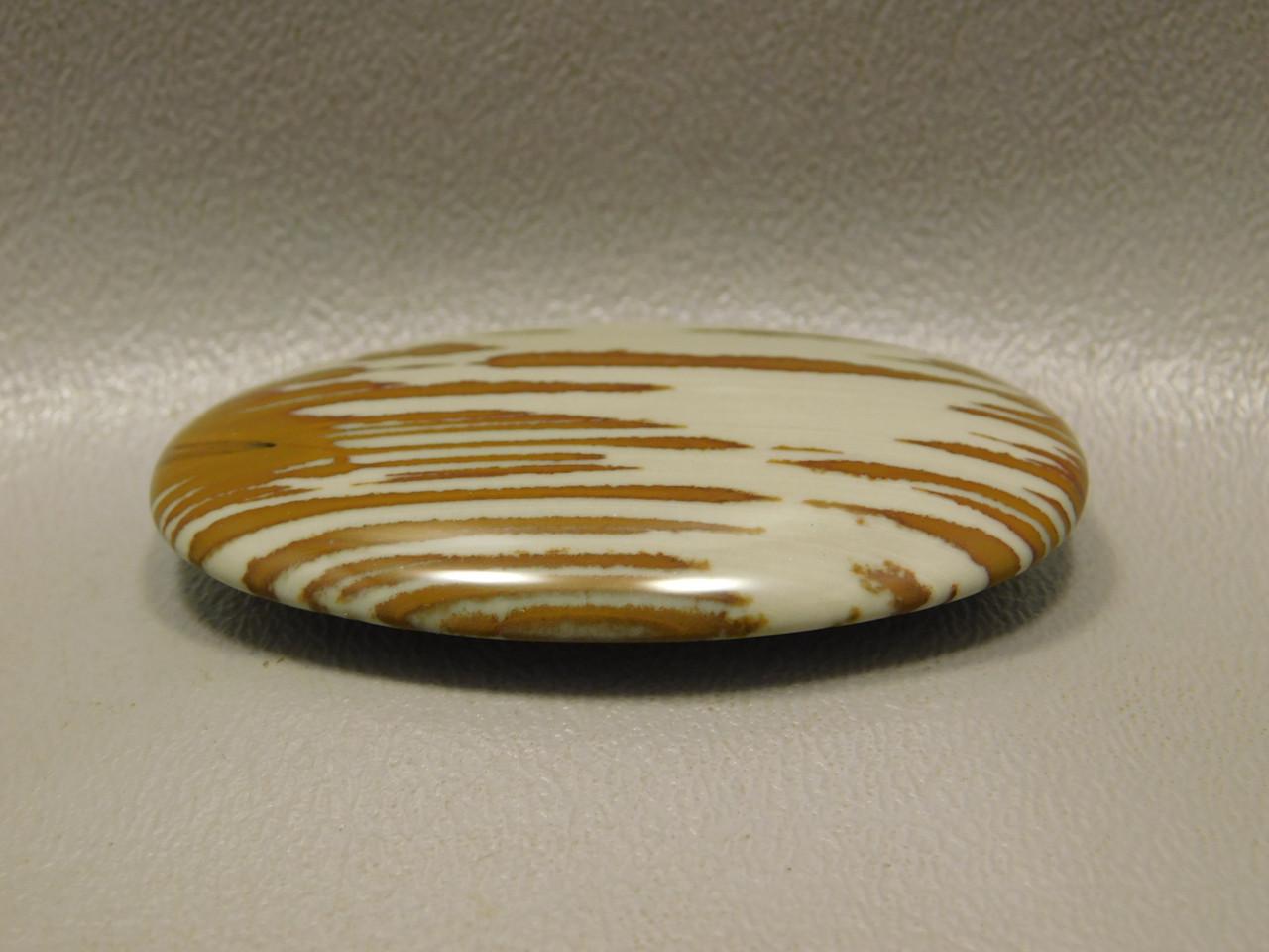 Stone Cabochon Oval Red Scenic Owyhee Picture Jasper #8