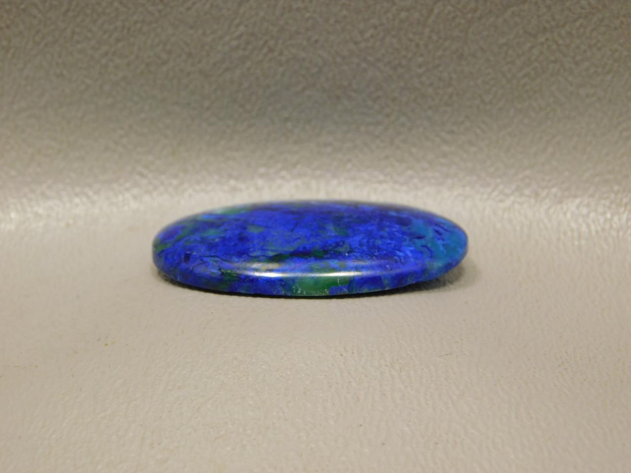 Cabochon Blue Azurite Green Malachite Semiprecious Stone #6