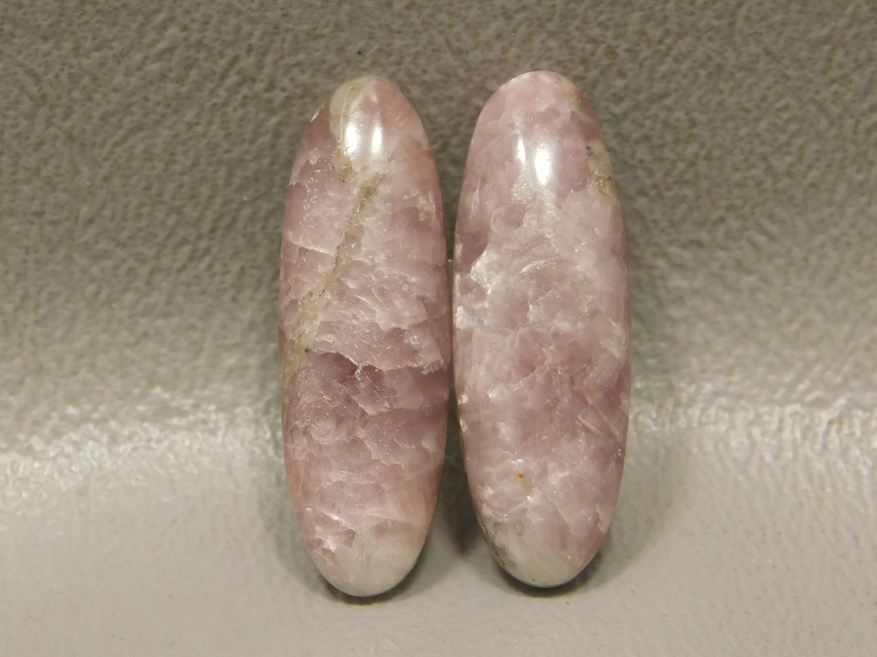 Lepidolite Matched Pairs Cabochons #16