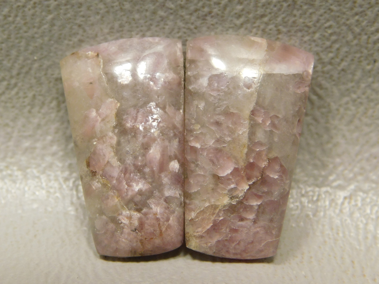 California Lepidolite Cabochons Matched Pairs Wire wrapping #21