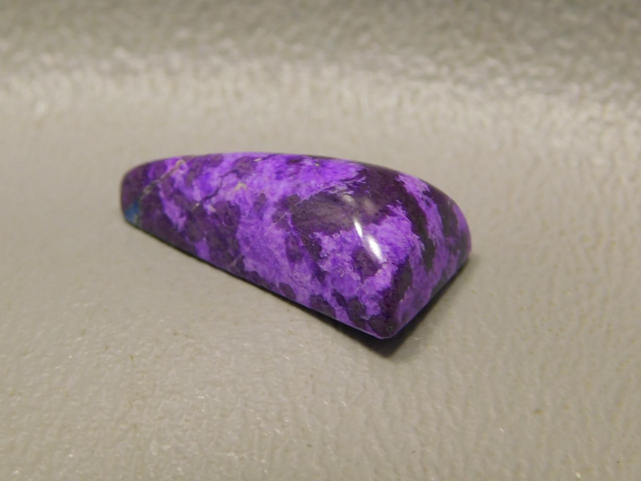 Sugilite Small Fat Triangle Stone Cabochon Purple Lavulite #31