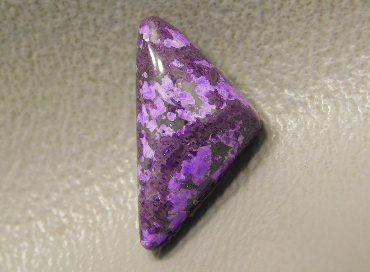 Sugilite Small Triangle Stone Cabochon Purple Jewelry Supplies #35