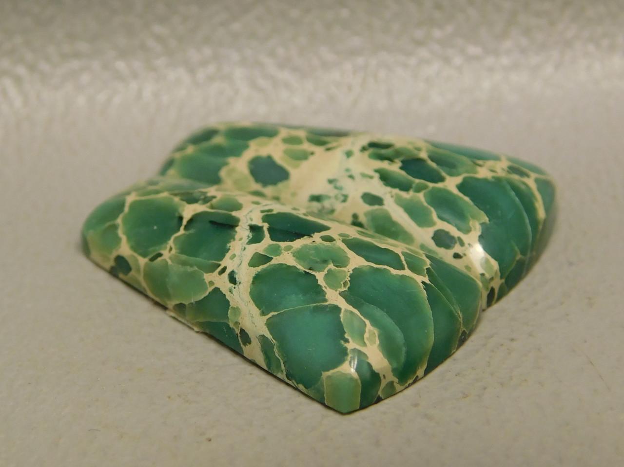 Web Variscite Matched Pair Cabochon Semiprecious Stones  #10