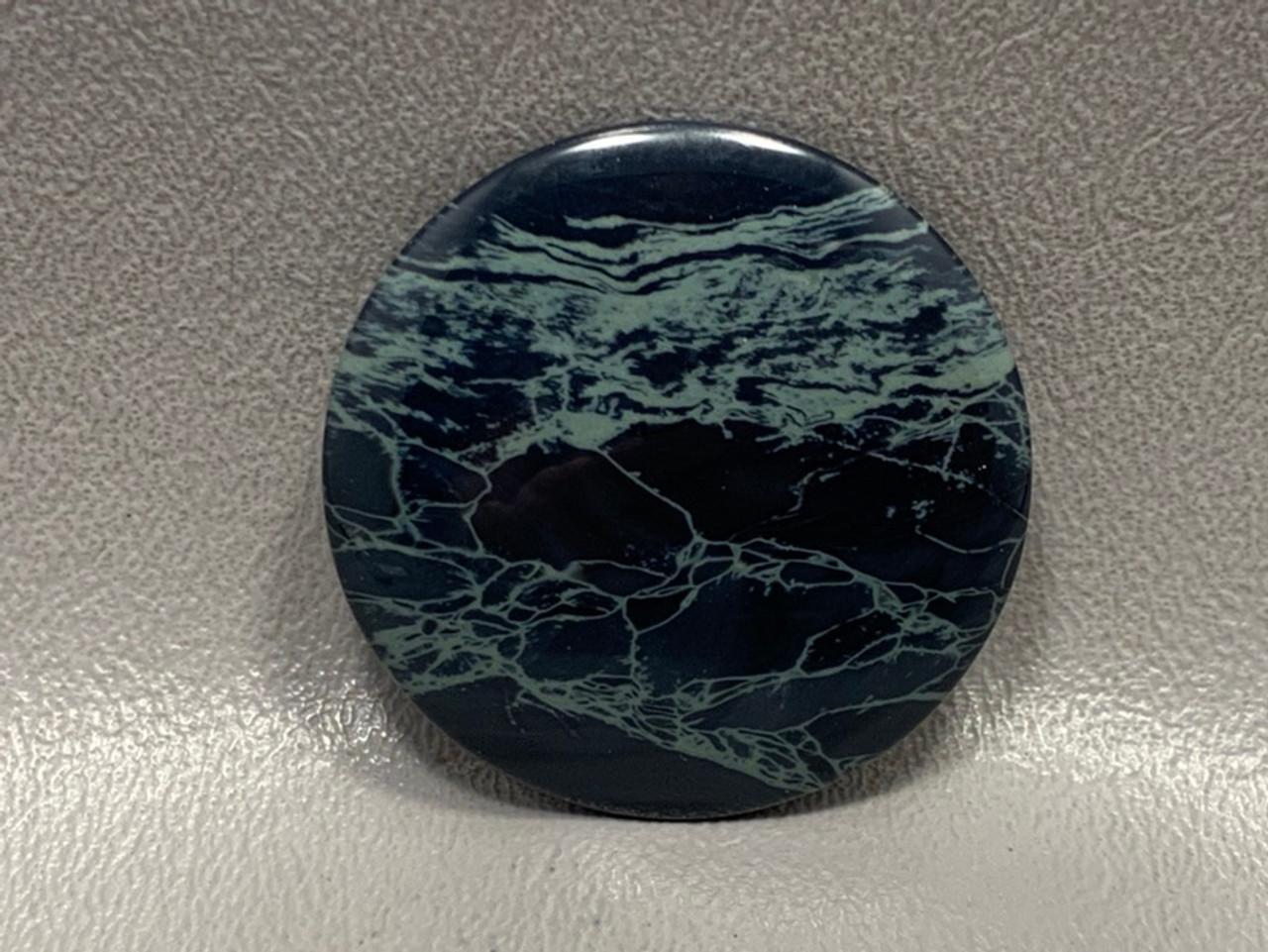 Spiderweb Obsidian Designer Cabochon 40 mm Round #8