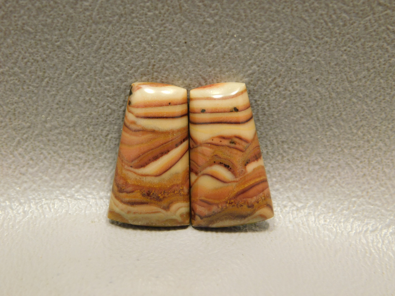 Stones Cabochons Wave Dolomite Matched Pairs Jewelry Supplies #6