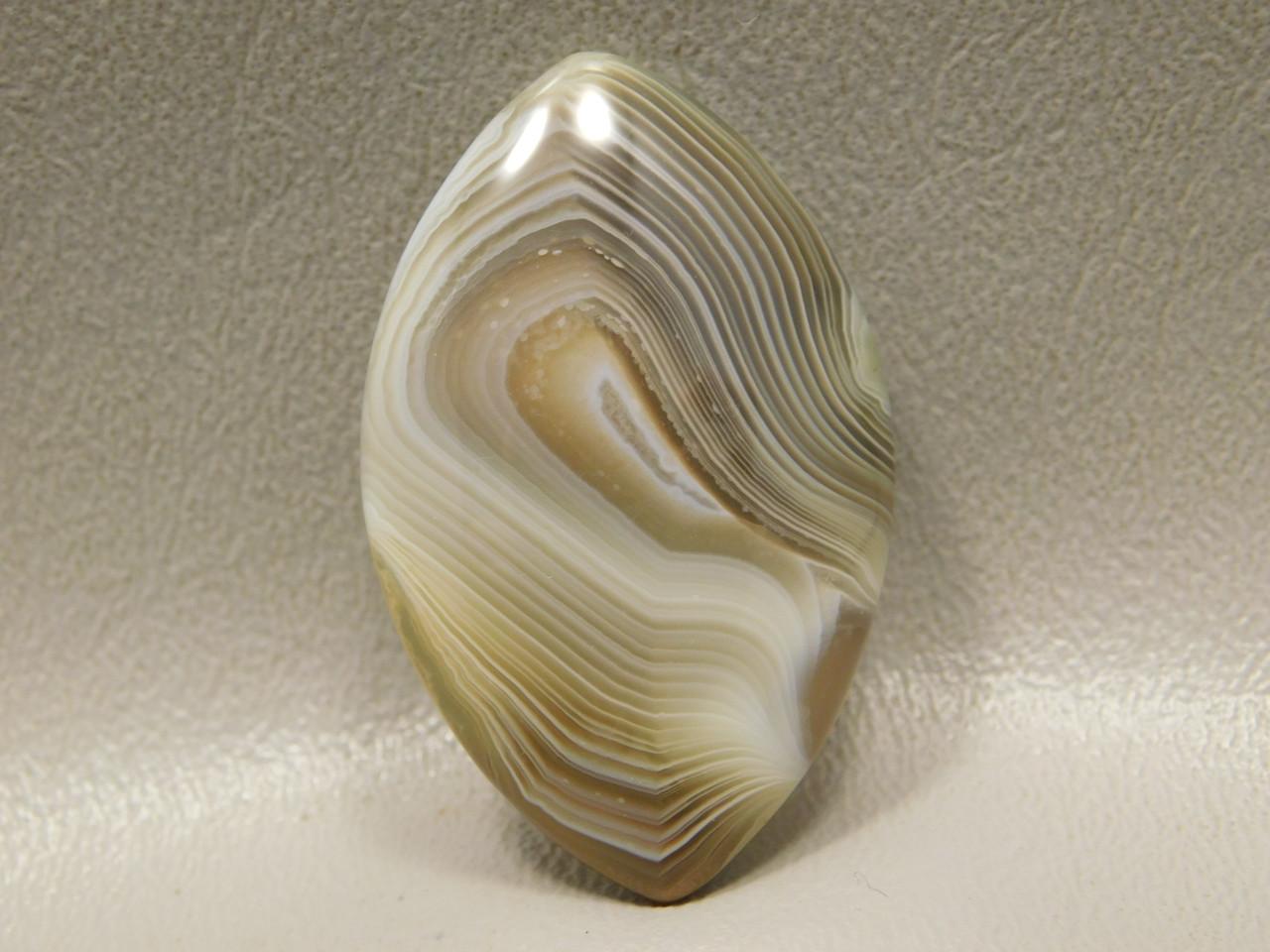 Botswana Agate Marquis Shaped Cabochon Stone #16