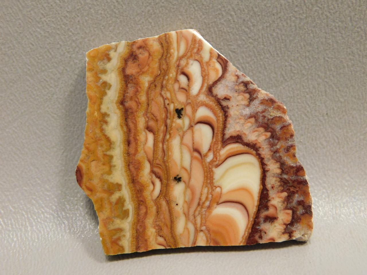 Wavy Dolomite Cabochon Small Polished Stone Slab #S1