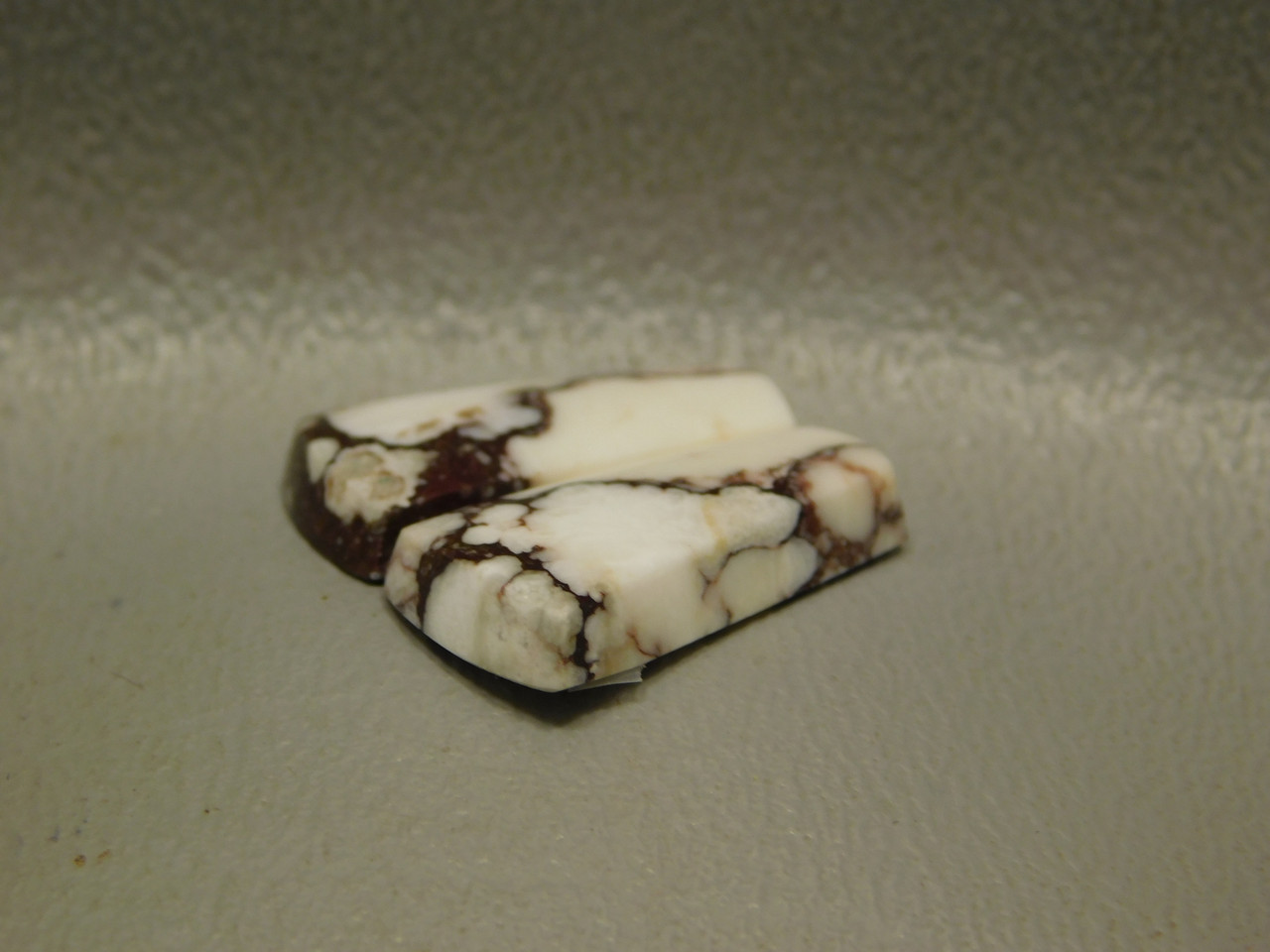 Wild Horse Matched Cabochons Appaloosa Stone Small Pair #13