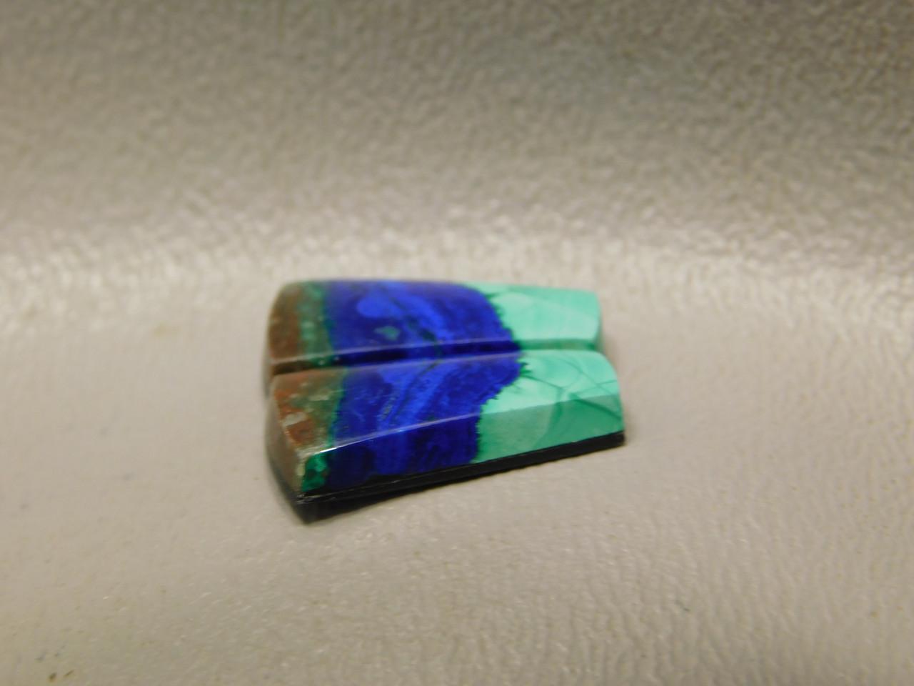 Azurite-Malachite Matched Pairs Trapezoid Cabochons Stones #29