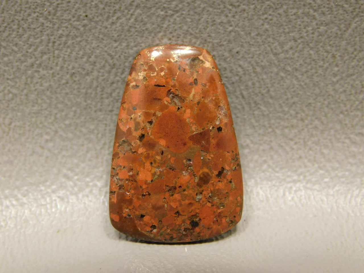 Kingston Conglomerate Cabochon Natural Native Copper Rose Stone #3