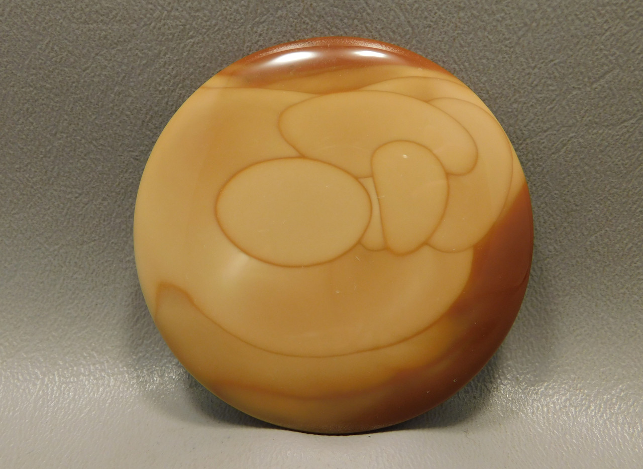 Large Bruneau Jasper Stone Cabochon Collector 65 mm (2.5 inches!) #xl1